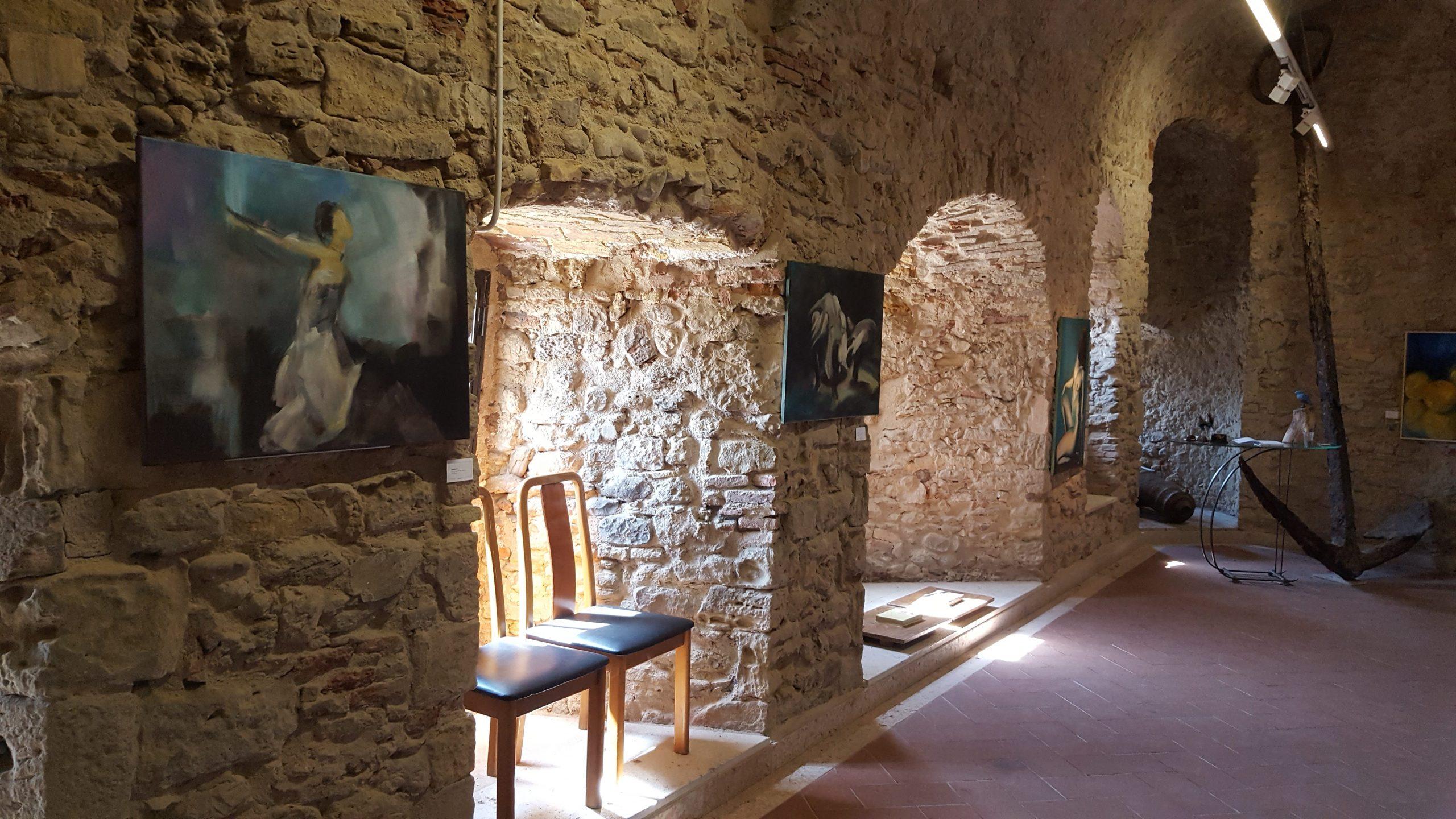 Impression of my exposition in Castello Svevo Termoli, Italy 2016