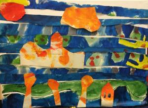 Workshop Hundertwasser basisschool