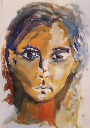 Workshop Portretschilderen Honigfabriek/Radboud Uni