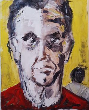 Resultaat Workshop Portretschilderen Honigfabriek/Radboud Uni